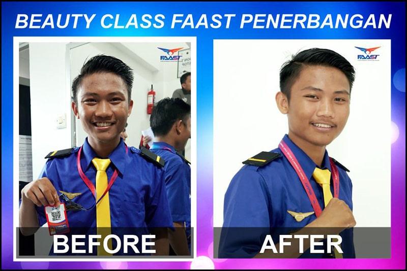 Beauty Class Siswa Siswi FAAST Penerbangan November 2019