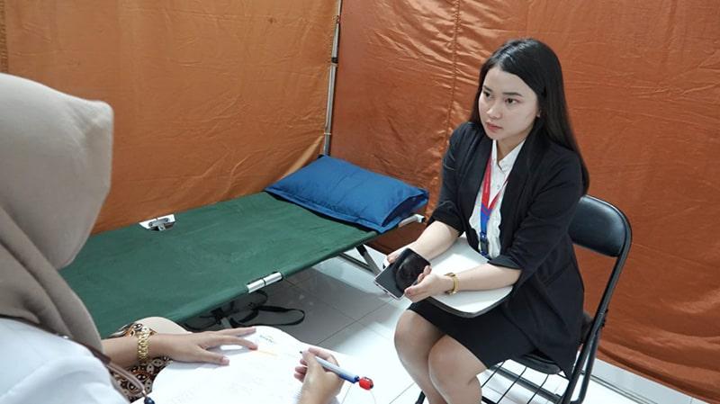 Tes Kesehatan Siswa Siswi FAAST Penerbangan Angkatan 2019