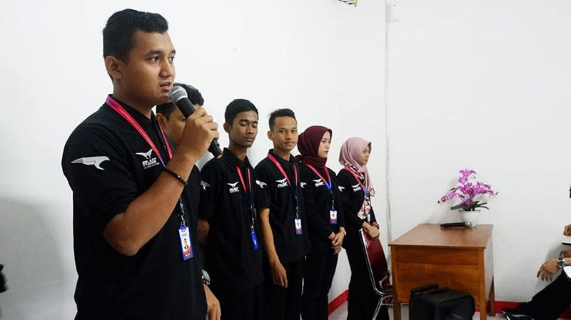 Welcome Ceremony Siswa Siswi FAAST Penerbangan November 2019