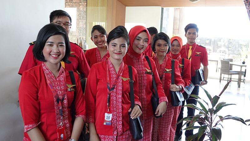 Table Manner Siswa Siswi FAAST Penerbangan November 2019