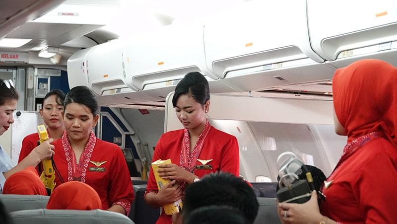 Flight Safety Training Siswa Siswi FAAST Penerbangan November 2019