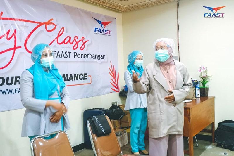 Beauty Class Siswa Siswi FAAST Penerbangan November 2020