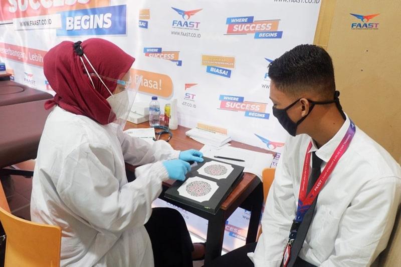 Medical Check Up Siswa Siswi FAAST Penerbangan November 2020