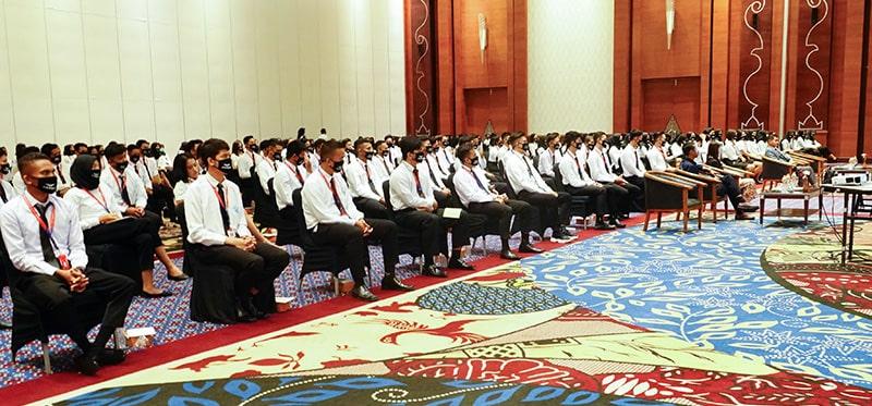 Welcome Ceremony Siswa Siswi FAAST Penerbangan November 2020