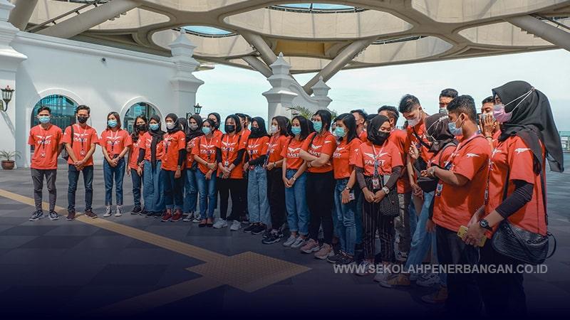 Visit Airport Siswa Siswi FAAST Penerbangan November 2020