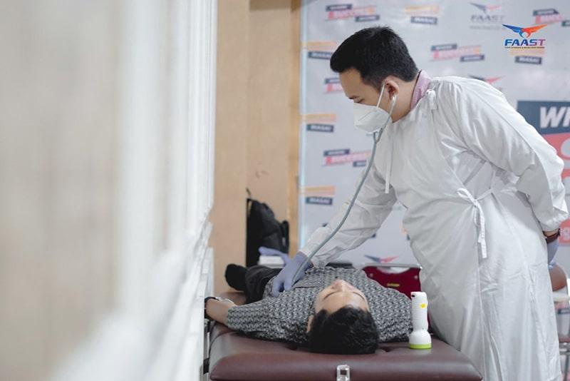 Medical Check Up Sekolah Pramugari FAAST Penerbangan Juni 2021