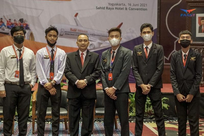 Welcome Ceremony Sekolah Pramugari FAAST Penerbangan Juni 2021