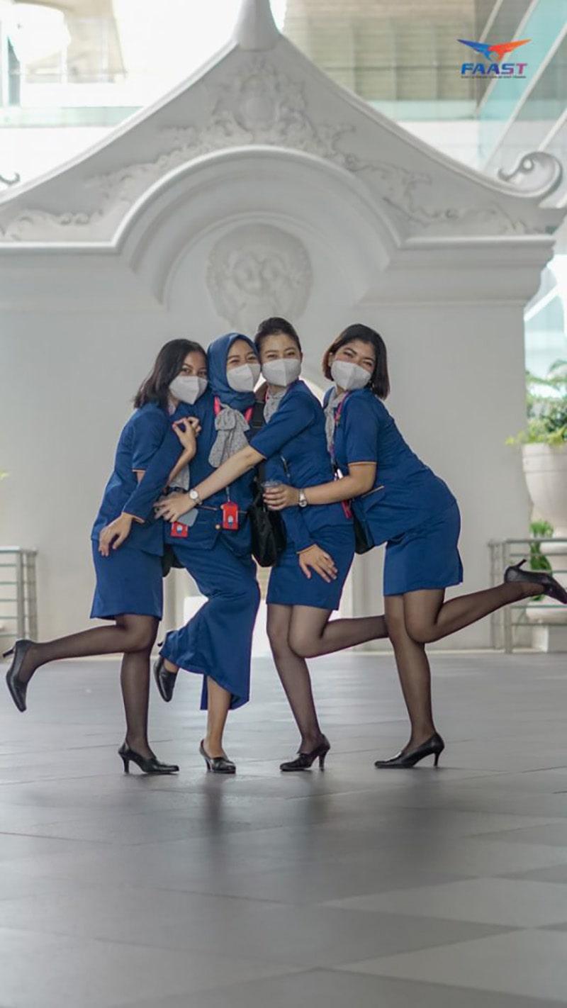Kunjungan Bandara Siswa Siswi FAAST Penerbangan Juni 2021
